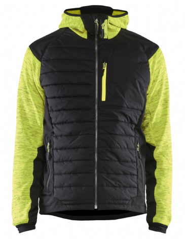 Blaklader 5930 Padded Hybrid Jacket (Vis Yellow / Black)